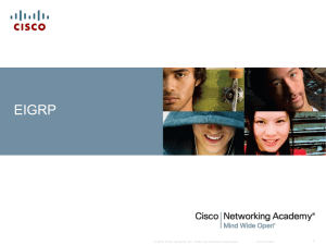 EIGRP Cisco