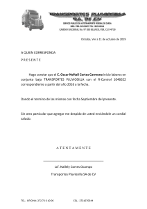 Carta LABORAL oscar c