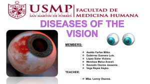 Diseases-of-the-vision