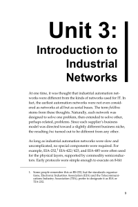 AutomationNetworkSelection 3rdEd Chapter3