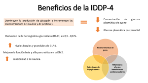 Beneficios de la IDDP-4
