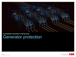 Generator Protection 2011