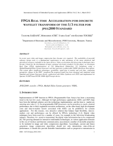 FPGA REAL TIME ACCELERATION FOR DISCRETE