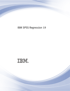 IBM-SPSS regression regresión logística