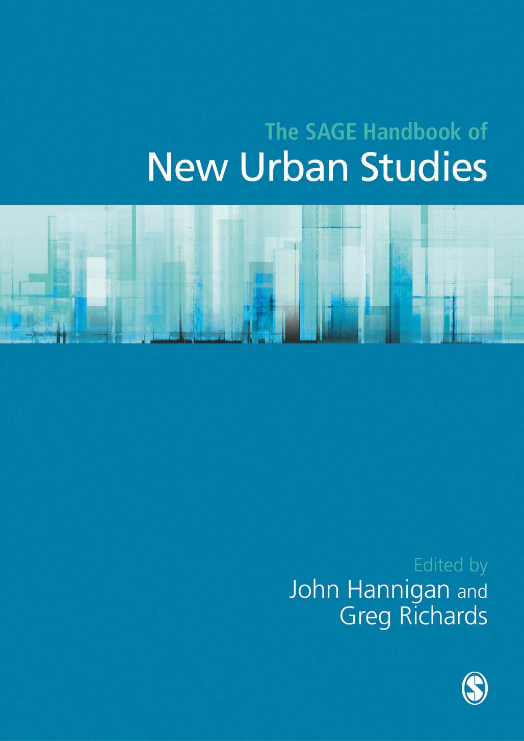 2017. NEW URBAN STUDIES AND TOURISM. RICHARDS
