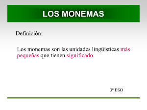 los monemas