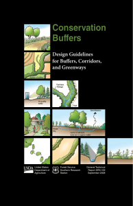 USDA conservation buffers