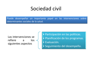 Sociedad civil y sociedad civil- Nicole