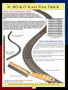 Atlas #560  WYE Custom-Line Turnout Track HO Scale Code 83 Rails