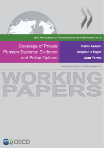 Coverage of Private Pension Systems, Evidence and Policy Options