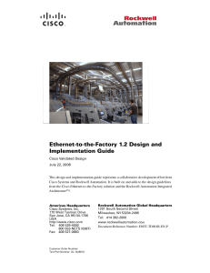 Ethernet Factory