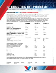 LA-J-6572 Cobalt Grease Product Information Sheet ES