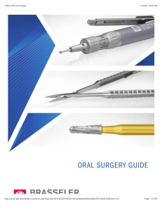 Brasseler USA 2015 Oral Surgery Guide  -ISSUU PDF Downloader