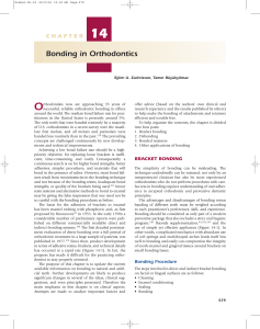 Bonding-in-Orthodontics