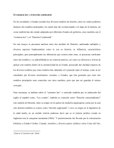 common law y derecho continental