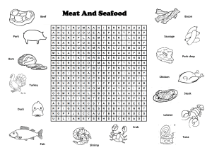 Meat And Seafood