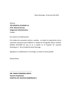 CARTA PERSONAL PARA TOP MEDICAL