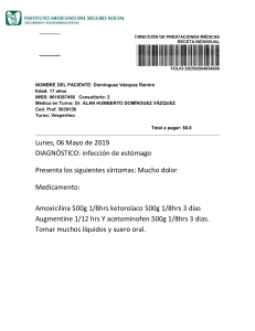 Documento de Receta médica