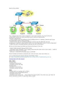 Question Vlan Troubleshooting