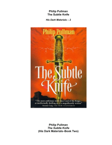 [His Dark Materials - Book 2] Philip Pullman - The Subtle Knife