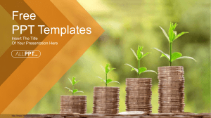 Money Growing Plan PowerPoint Templates