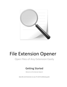 File Extension Opener Guide