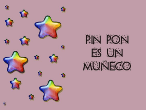Cancion con pictogramas Pin Pon