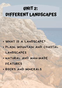 DIFFERENT LANDSCAPES