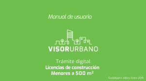 Manual de usuario Licencias construccion VisorUrbano