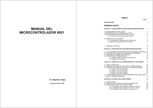 Manual del microcontrolador 8051