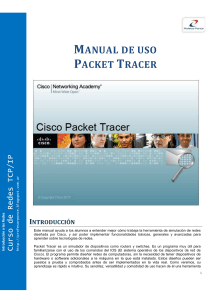 Manual Packet Tracer