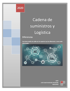 diferencias entre supply chain y logistica