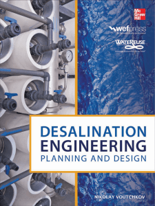 Desalination Engineering Planning and Design