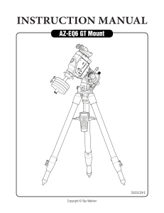 SkyWatcher-AZEQ6-Manual-de-instrucciones-English