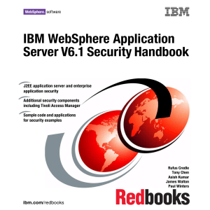 IBM Websphere Application Server V6.1 Security Handbook