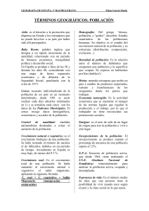 vocabulario reducido POBLACION