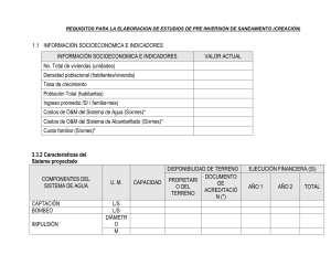 REQUISITOS DE SANEAMIENTO