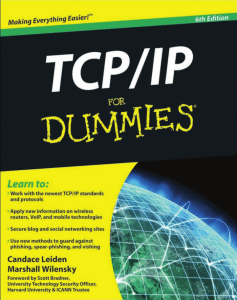 TCP-IP For Dummies