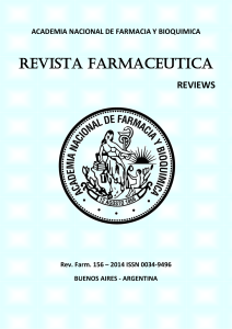 Review surfactante pulmonar parte I Revista Farmaceutica 2014