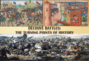 Decisive Battles: The Turning Points of History (Battle of Hattin and Battle of Trafalgar)