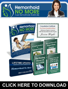 Hemorrhoid No More PDF, eBook by Jessica Wright