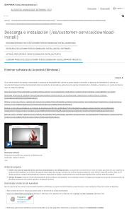 Eliminar software de Autodesk (Windows)