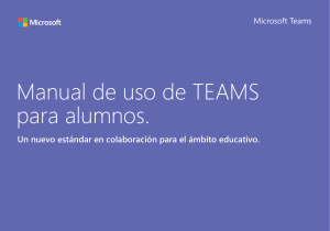 Manual Teams para alumnos