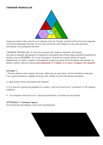 TANGRAM TRIANGULAR