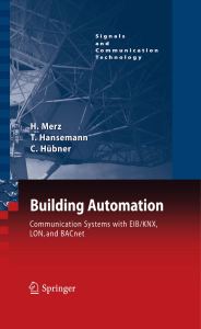 Building Automation Communication system