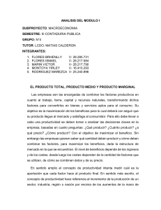 analisis producto total