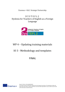 DysTEFL2 O3 Methodology-and-templates