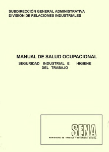 manual salud ocupacional