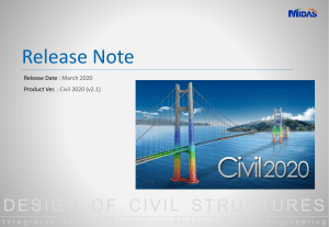 Midas Civil 2020 v21 Release Note (1)