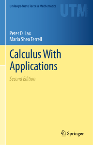 2014 Book CalculusWithApplications